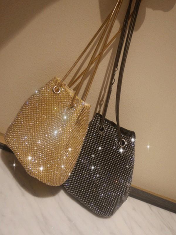 Rhinestone Evening/Party Crystal Handbags
