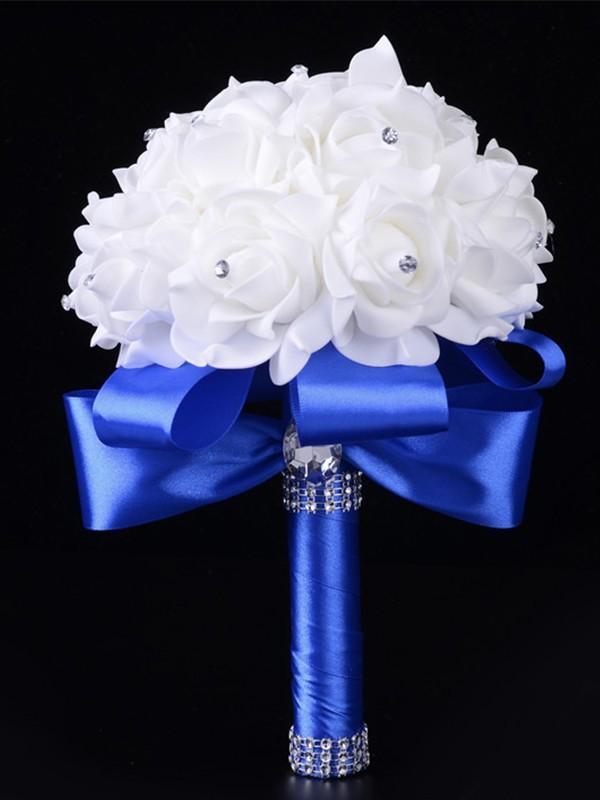 Wedding Foam Flowers Rose Bridal Bouquet