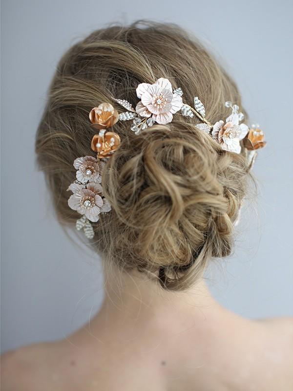 Unique Alloy Bridal Headpieces