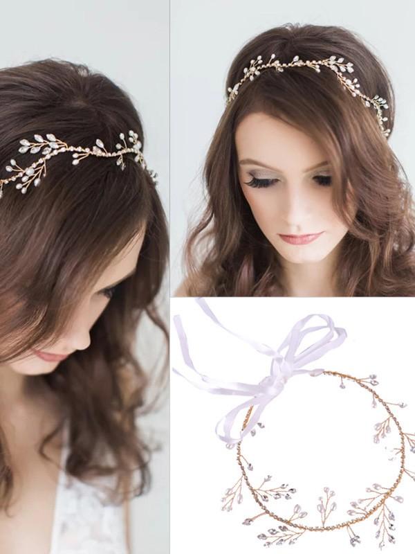 Charming Czech Alloy Wedding Headpieces