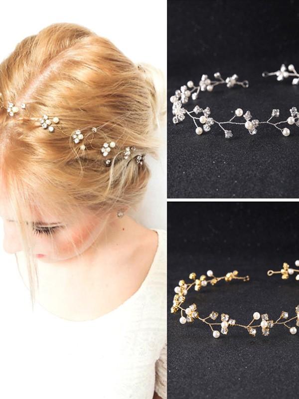 Lovely Czech Pearl Wedding Headpieces