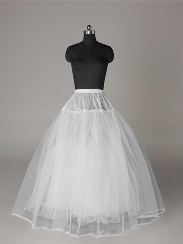 Tulle Netting Ball-Gown 3 Tier Floor Length Slip Style/Wedding Petticoats