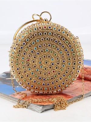 Gorgeous Rhinestone Evening/Party Colourful Crystal Handbags