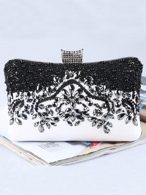 Pretty PU Beading Evening/Party Handbags
