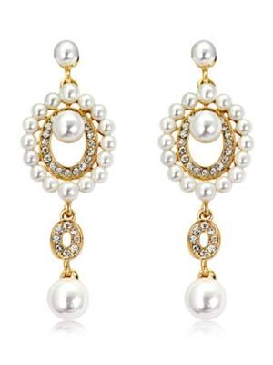 Ladies Unique Pearl Hot Sale Earrings