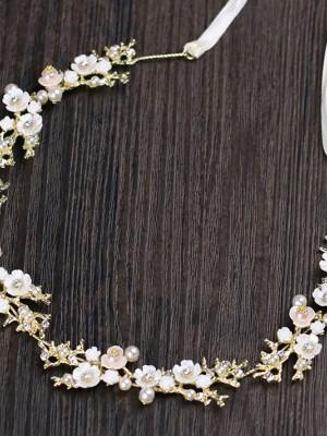 Glamorous Czech Alloy Wedding Headpieces
