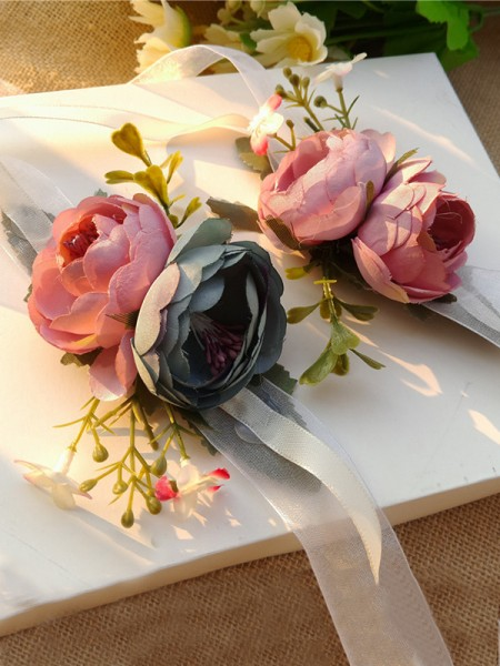 Fashion Wedding flower Cloth Wrist Corsage