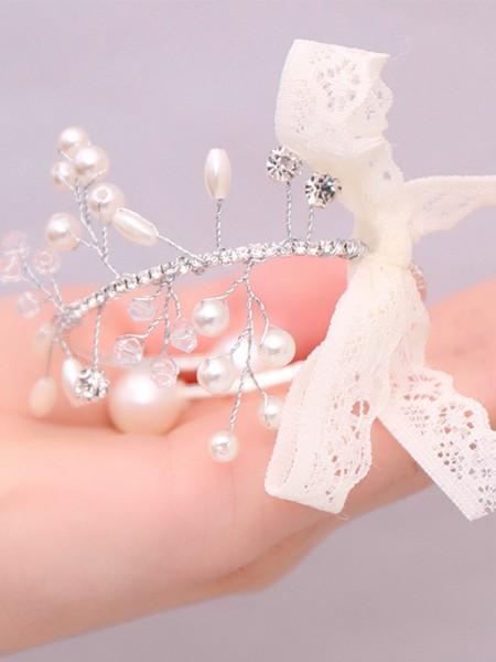 Attractive Rhinestone Wrist Corsage Wedding Supplies