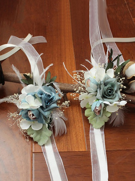 Wedding Flower Beautiful Cloth Wrist Corsage