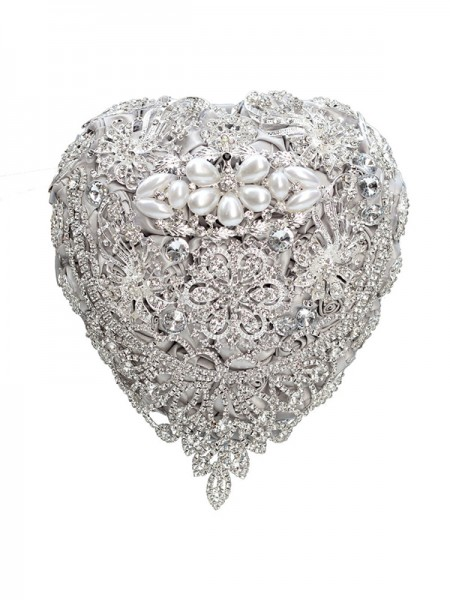 Wedding Supplies Charming Free-Form Satin Bridal Bouquets