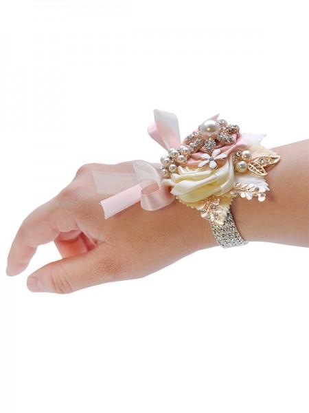 Fashion Satin Bridal Wrist Corsage