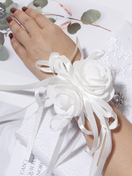 Pure Cloth Wrist Corsage Wedding Accessories