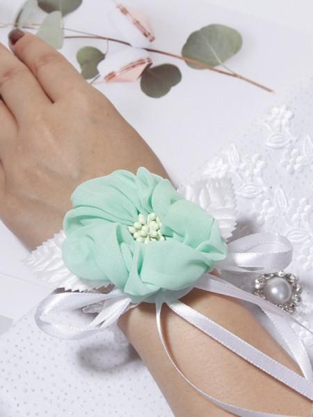 Lovely Cloth Wrist Wedding Corsage