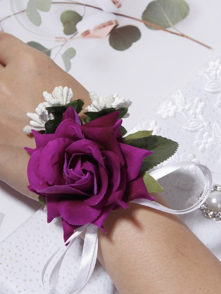 Sweet Cloth Wrist Wedding Corsage