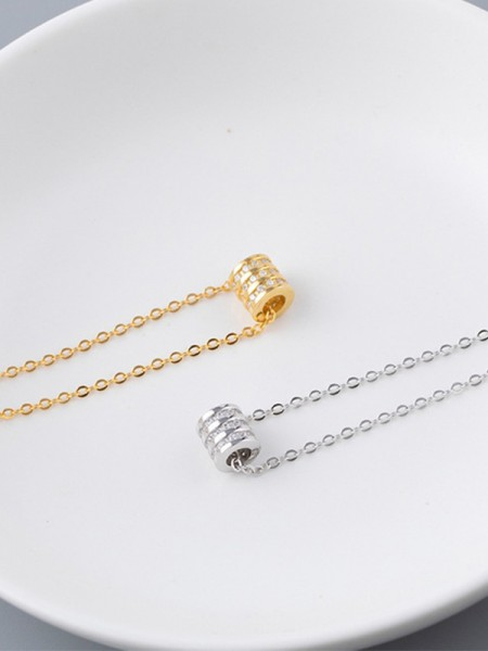 Charming S925 Silver Hot Sale Womens Necklaces