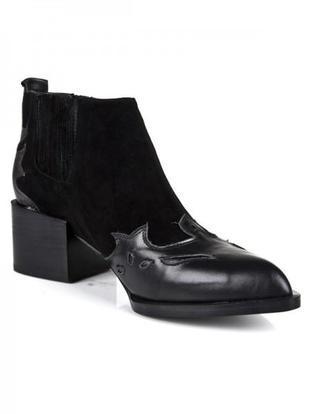 Black Booties S5LSDN1300LF