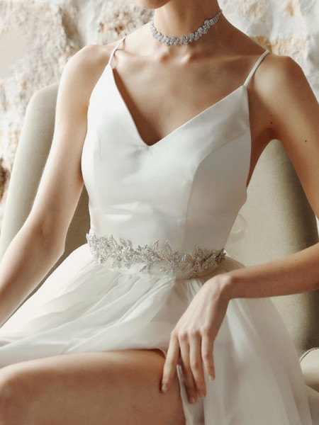 Women's Fashion Alloy Sashes With Rhinestones