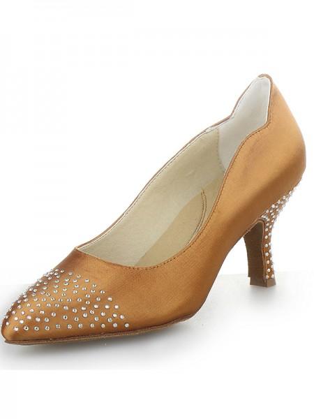 Satin Cone High Heels SW1624101I