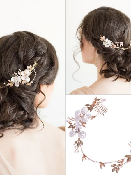 Stunning Czech Alloy Wedding Headpieces
