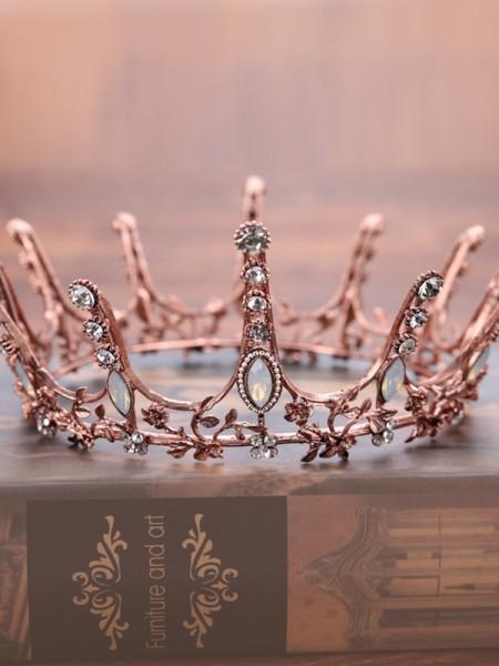 Bright Crystal Wedding Headpieces