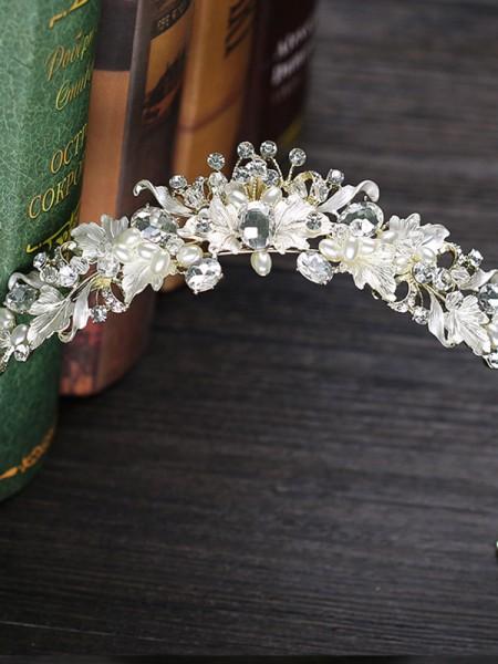 Amazing Czech Alloy Wedding Headpieces