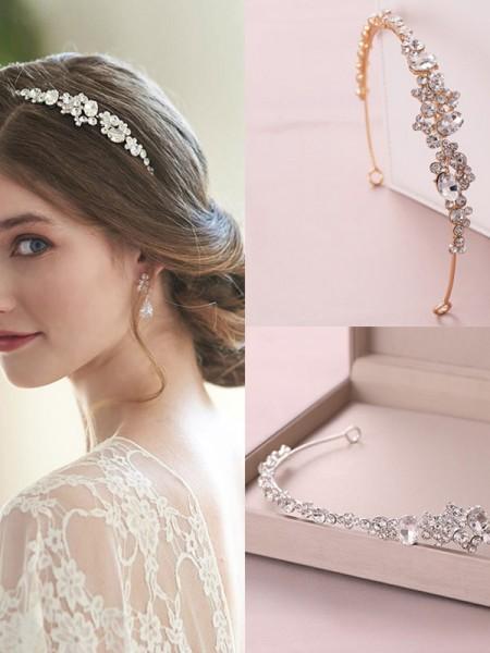 Gorgeous Czech Alloy Wedding Headpieces