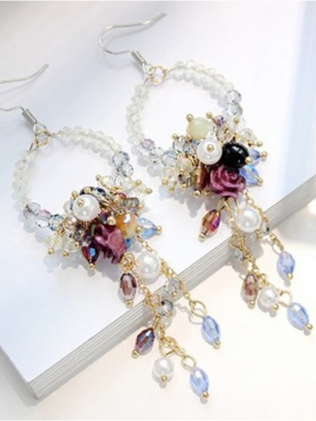 Trending Bohemia Style Crystal Women's Earrings