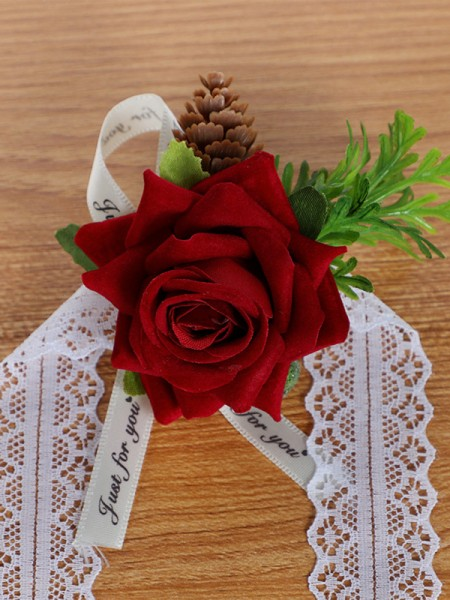Corsage Wedding Flower Bridal Wrist Rose Flower