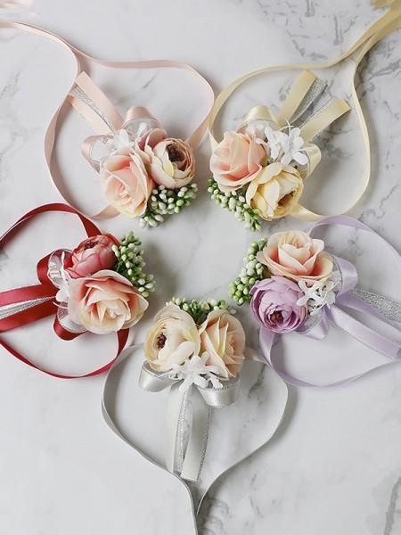 Gorgeous Wedding flower Cloth Wrist Corsage