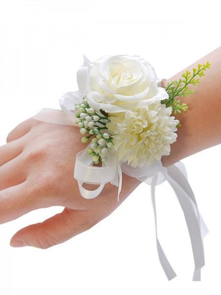 Wedding decoration Beautiful Cloth Wrist Corsage