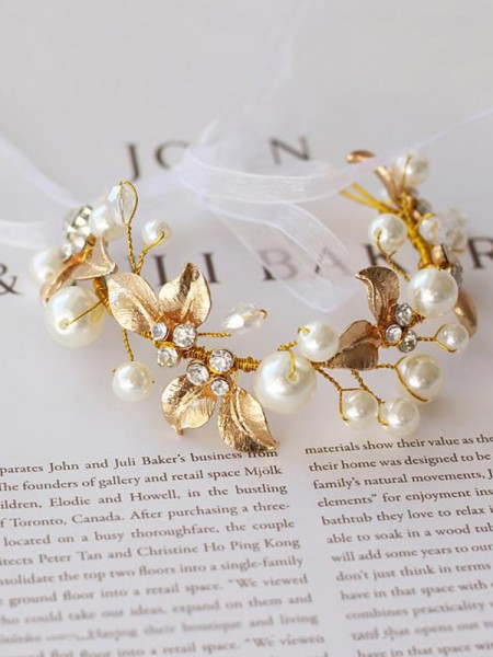 Delicate Imitation Pearl Wedding Wrist Corsage