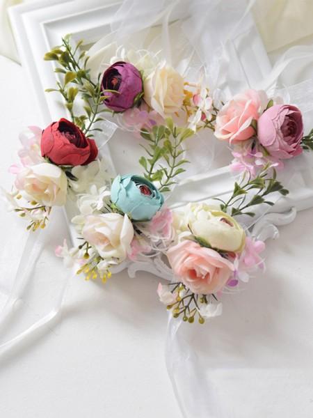 Blooming Cloth Wrist Corsage Wedding Supplies