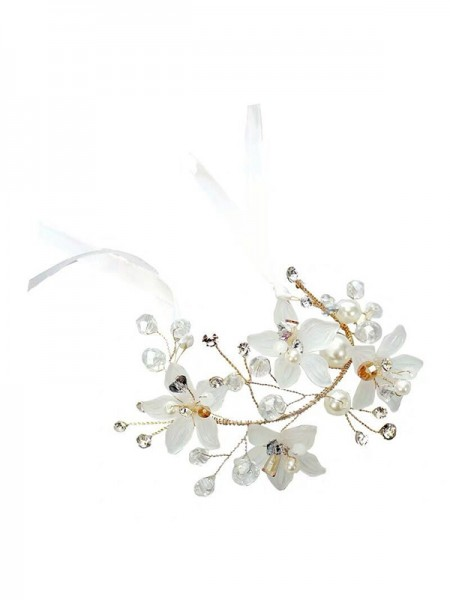 Girly Glass Wrist Corsage Wedding Supplies