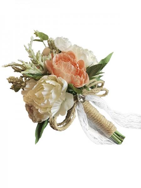 Free-Form Plastic Fashion Bridal Bouquets