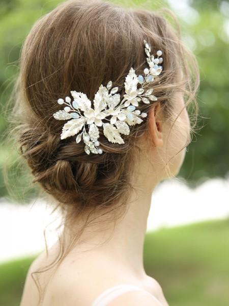 Elegant Alloy Bridal Headpieces