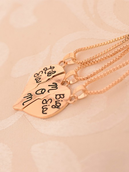Hot Sale Attractive Alloy Necklaces For Mother