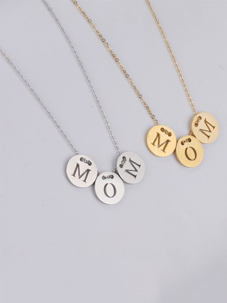 Lovely Titanium Hot Sale Necklaces For Mother