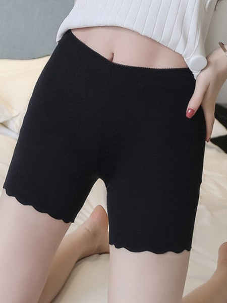 Nylon Seamless Women's Elastic Safety Pants/Safety Shorts