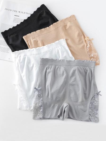 Nylon Lace Elastic Women's Safety Pants/Safety Shorts