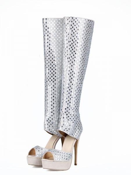 Rhinestones Boots S5LSDN1605060LF