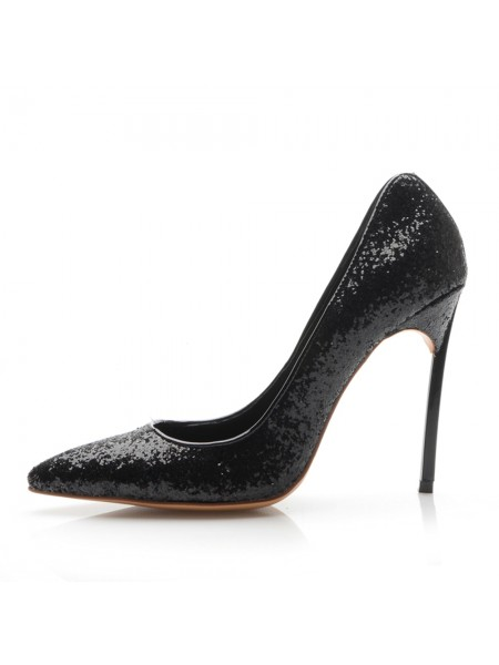 Women's Closed Toe Stiletto Heel Office High Heels