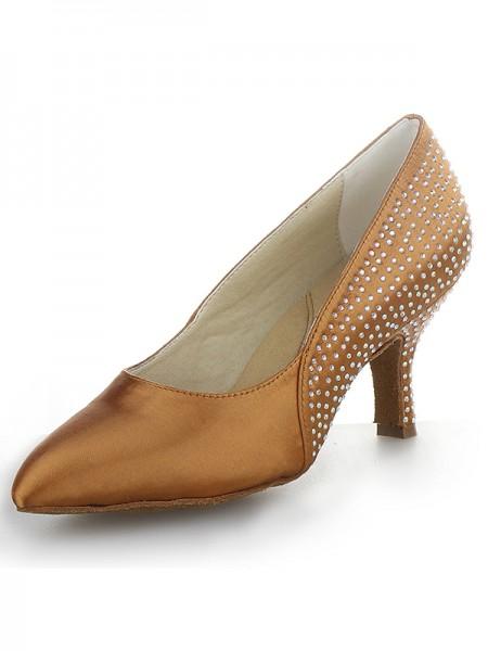Cone Satin High Heels SW162431I