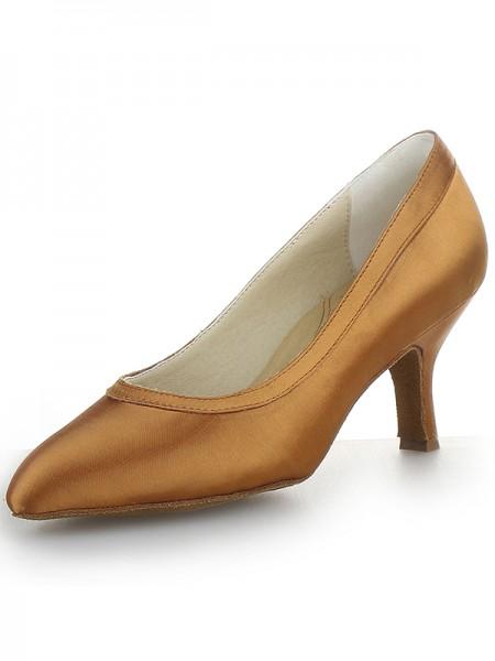 Satin Cone High Heels SW162481I
