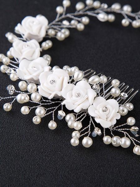 Nice Glass Wedding Headpieces