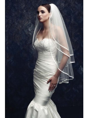 Gorgeous 3 Layer Tyll Bryllupsslør