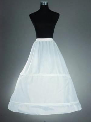 A-Line 1 Tier Floor Length Nylon Slip Style/Wedding Petticoats